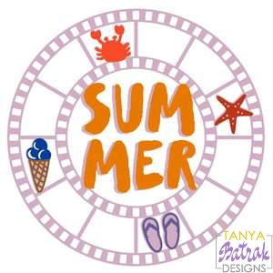 Summer Circle Film Frame