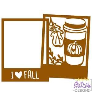 Autumn Frame With Coffee